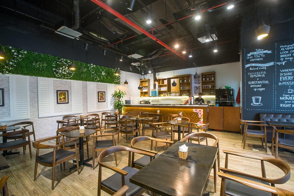 Quán cafe dự án TNR Goldmark City