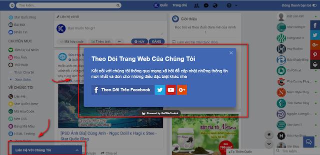 Hướng Dẫn Tạo Thanh Widget Đẹp Như Blog Star Quốc