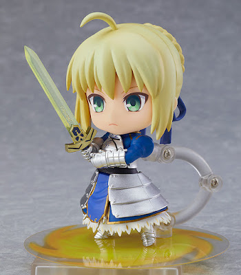 "Nendoroid Saber/Altria Pendragon True Name Revealed Ver. de ""Fate/Grand Order"" - Orange Rouge"