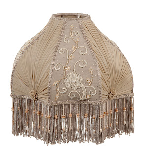 Maximizing function in antique lamp shades