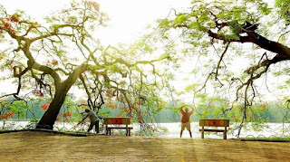 Exercising – From a habit to Hanoi's culture piece