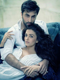 Aishwarya Rai Bachchan and Ranbir Kapoor hot photo shot