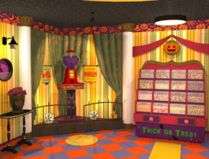 halloween candy shop escape walkthrough