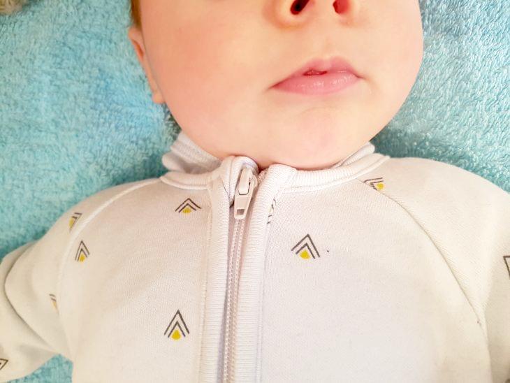 pyjama zip bebe