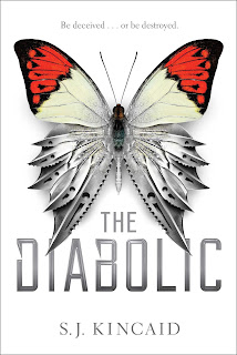 the diabolic, SJ Kincaid, Kincaid, fiction, science fiction, young adult, future, space, roman empire, romance, action, politics