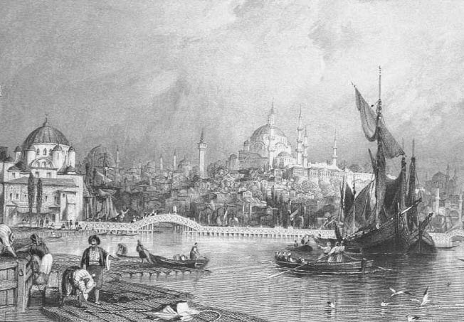 The history of constantinople