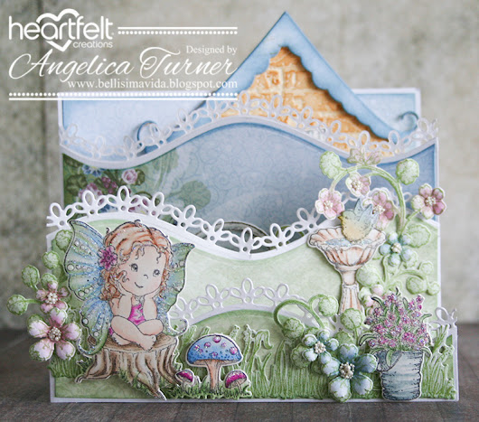 New Wildwood Cottage Collection from Heartfelt Creations