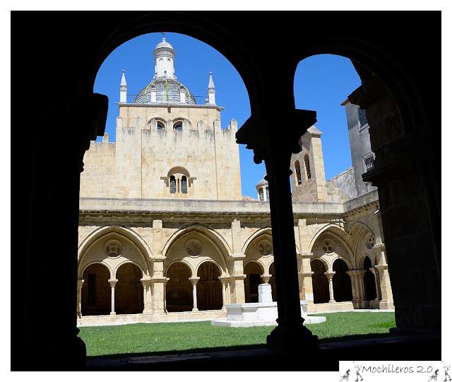 Patio del Claustro de Sé Velha, Catedral Vieja de Coimbra
