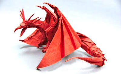 gấp giấy origami 3D