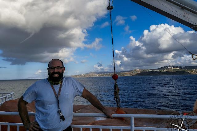 Vuelta en ferry
