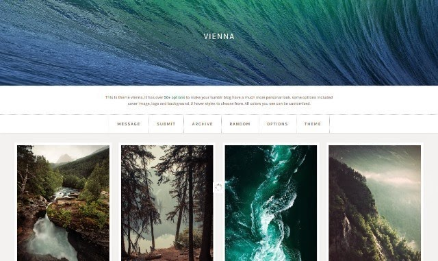 Vienna - Free Tumblr Theme