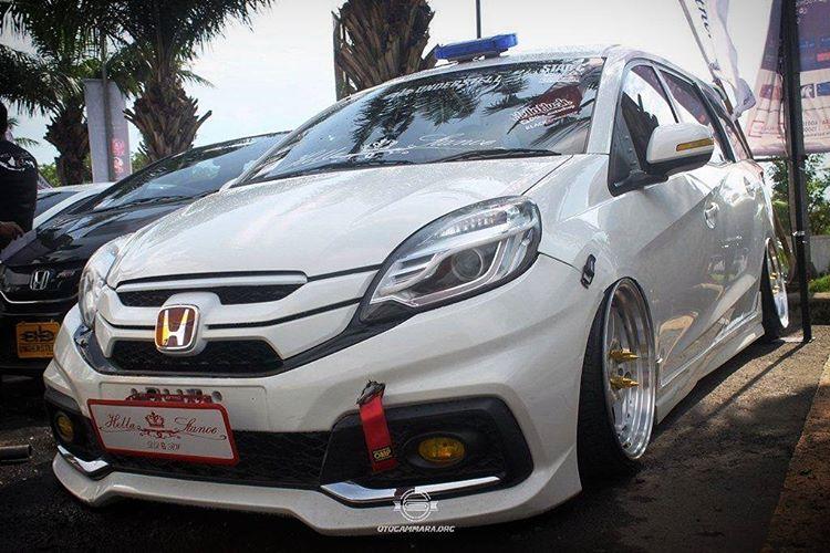 Modifikasi Mobil Ceper Honda Mobilio Putih Owner ...