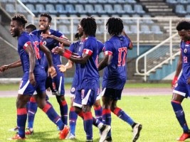 Haití 3-0 Suriname Gold Cup playoff qualification