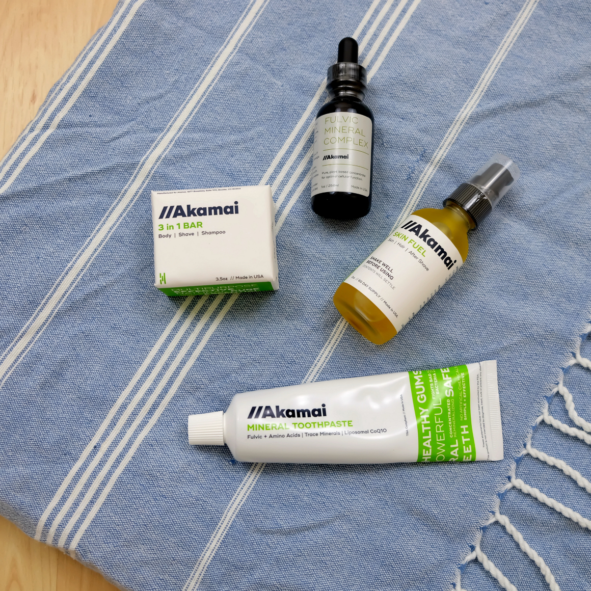 Akamai multiuse mineral skincare Essentials Starter Kit review stylewise-blog.com
