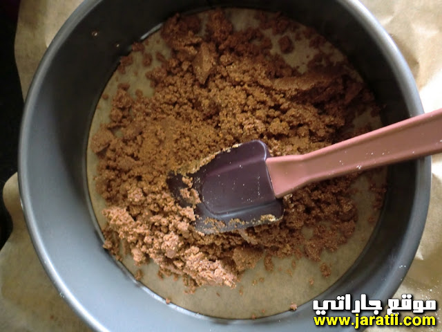 طريقة عمل تشيز كيك بالشوكولا