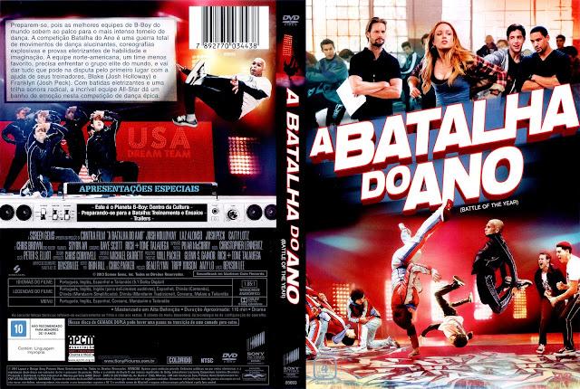 Capa DVD A Batalha do Ano