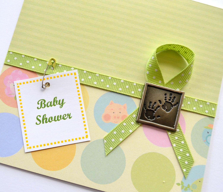 baby shower handmade card ideas  let's celebrate