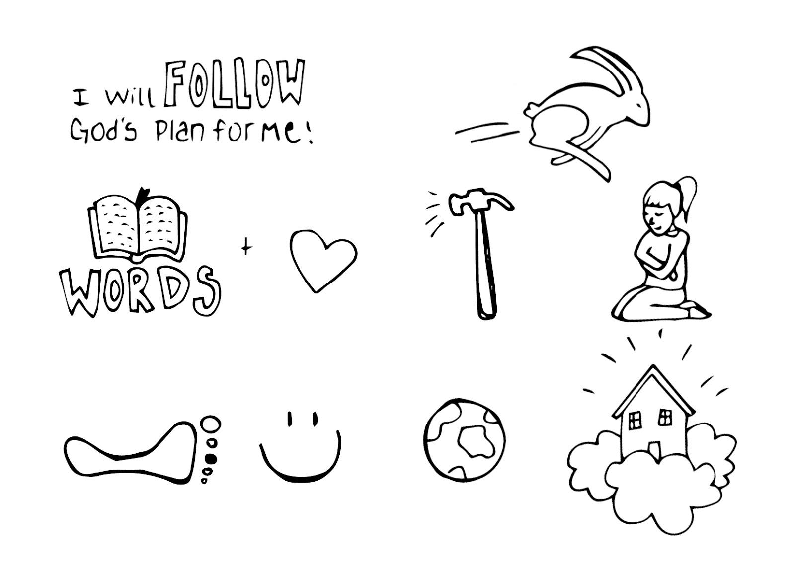Peach Bum: I Will Follow God's Plan (Cheat Sheet)
