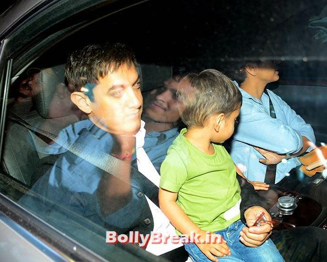 Aamir Khan, Aazad Rao Khan, Kiran Rao