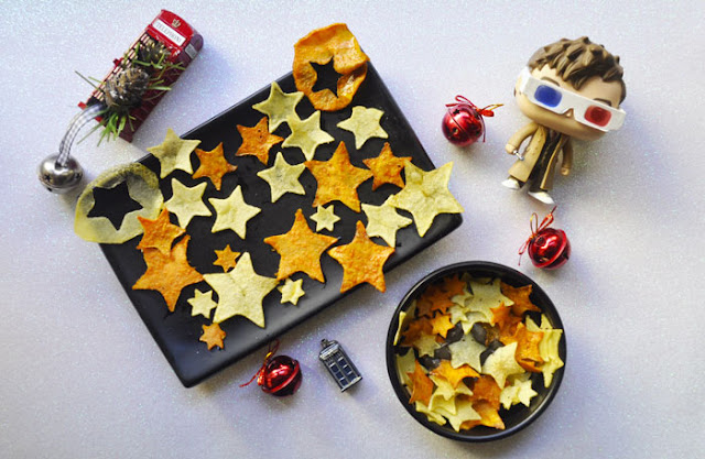 estrellas de boniato y patata