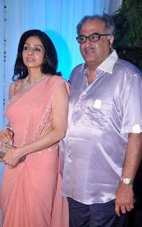 Shridevi & Boney Kapoor