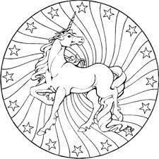 Ausmalbilder Mandala Pferde X Claudia Schiffer