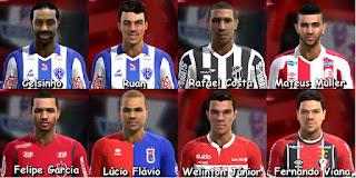 Facepack Brasileirão Serie B Pes 2013 By FB