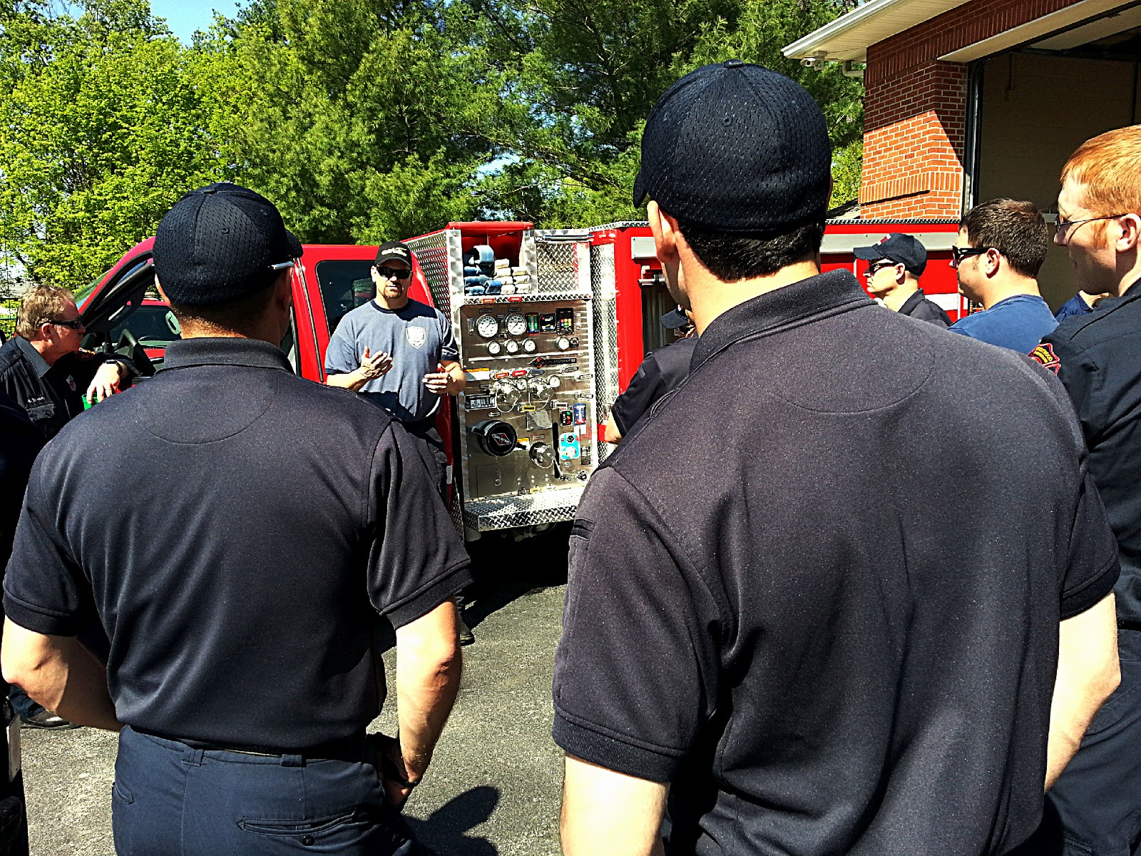 Brentwood Fire and Rescue: Station Life: Training With Engine 11