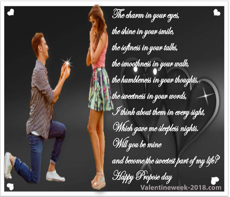 Propose day love images