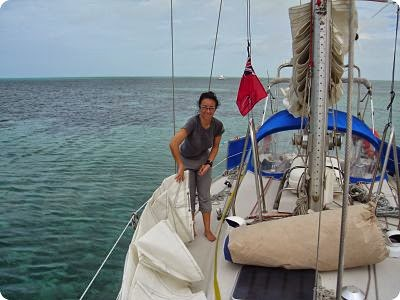 vida a bordo, en cubierta