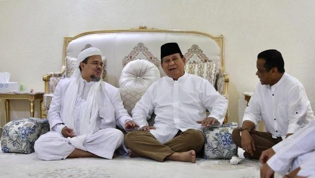 Gerindra Segera Bentuk Tim untuk Prabowo Jemput HRS
