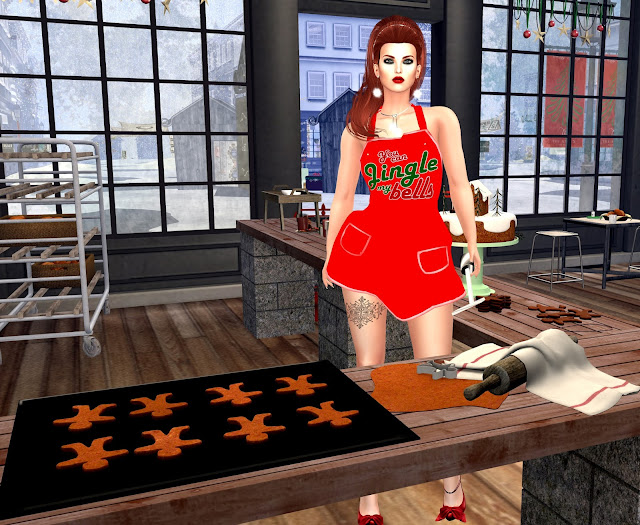 lushish catz,holiday cooking,apron