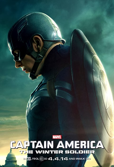 Poster Oficial Captain America: The Winter Soldier