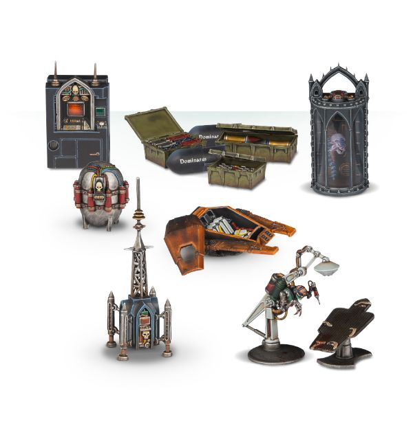 Games Workshop: New Warhammer 40K - Sector Imperialis Objectives