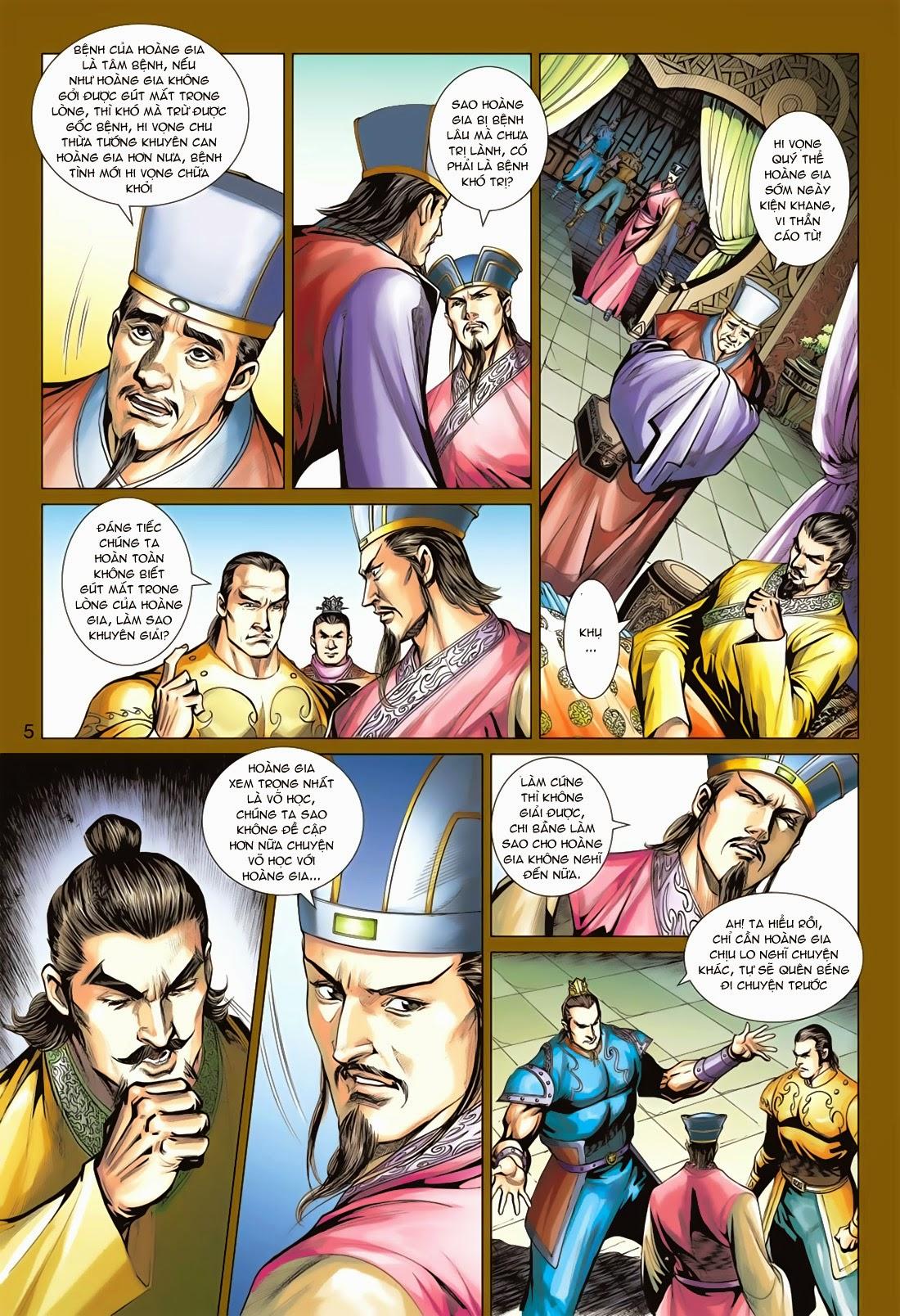 Anh Hùng Xạ Điêu anh hùng xạ đêu chap 78: sát anh trang 5