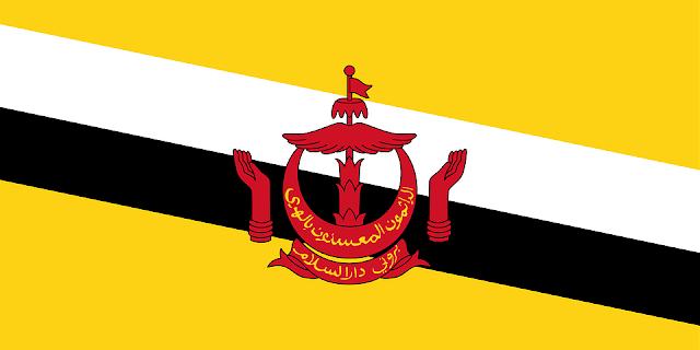 Bandera de Brunei Darussalam