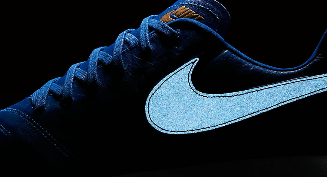 05b41048ca225 Reflective Racer Blue Nike Roshe Tiempo VI Boots Released - Footy ...