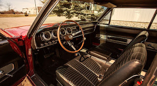 1966 Dodge Charger Hemi Interior