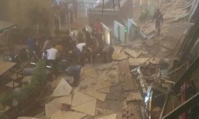 Ini Nama-nama Korban Ambruknya Balkon Gedung BEI Jakarta