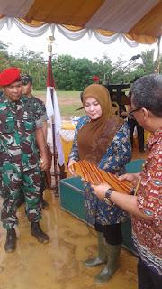 Danjen Kopassus Mayjen TNI Eko Mardiono Tinjau Lokasi  Latihan Kopassus