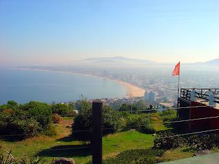 Piriápolis: Vista do Alto do Morro Santo Antônio