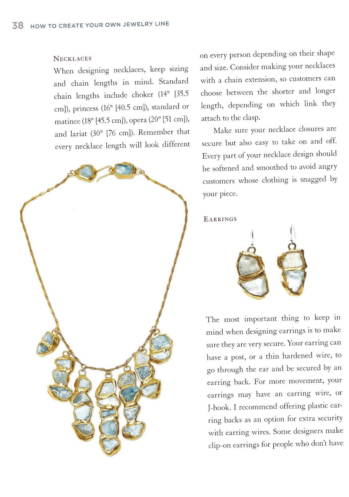 The Beading Library Book review How to create your own jewelry