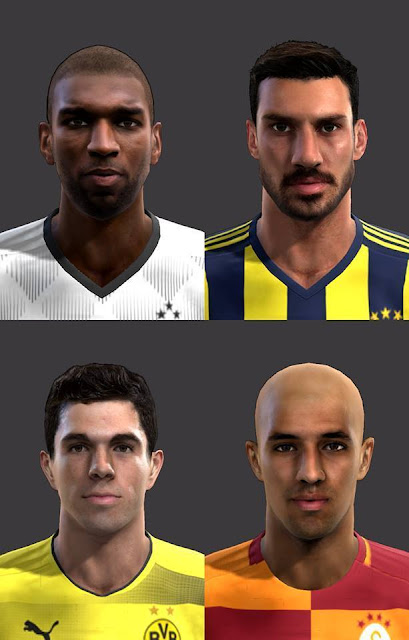 Infinity Facepack Vol.1 PES 2013