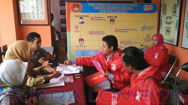 Hari Ini PSI Mataram Mendaftar ke KPU