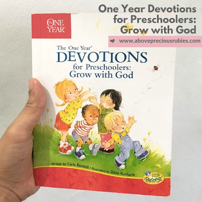 Book Review: One Year Devotions for Preschoolers: Grow with God