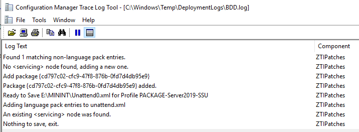 OS|DC: MDT 8443: Task Sequence stops after reboot