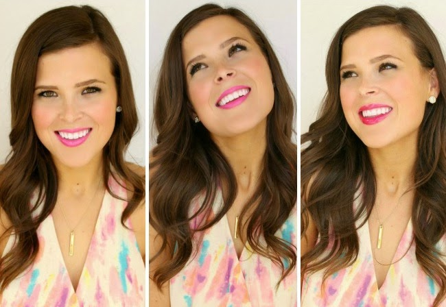 all about fuchsia lips