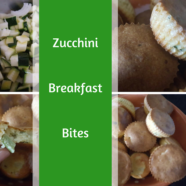 Zucchini breakfast bites recipe