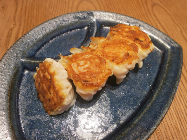 Homemade Shrimp Gyoza