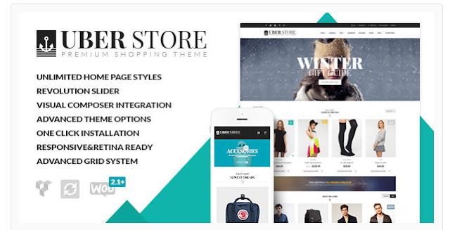 UberStore - Premium WordPress Theme